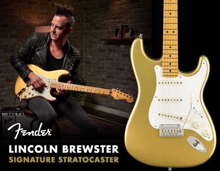 Fender Lincoln Brewster Signature