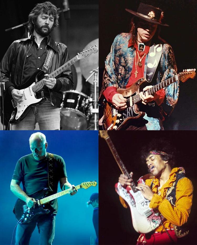 Guitarras Fender Signature