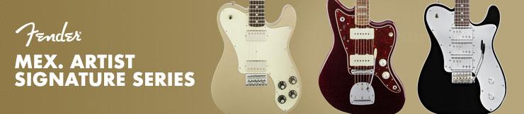 Guitarras Fender Mex. Artist Signature