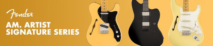 Guitarras Fender Am. Artist Signature