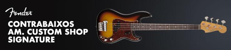 Contrabaixos Fender Custom Shop