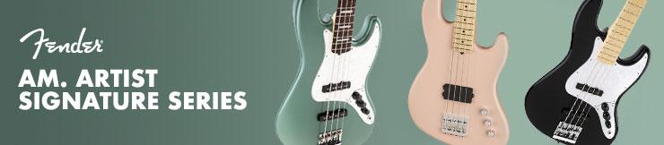Contrabaixos Fender Am. Artist Signature