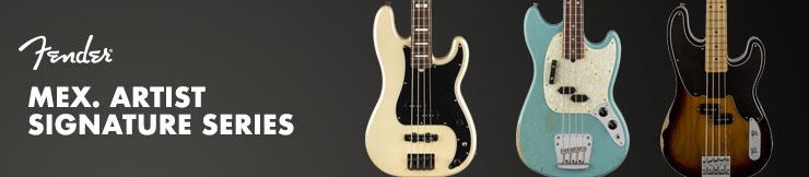 Contrabaixos Fender Mex. Artist Signature