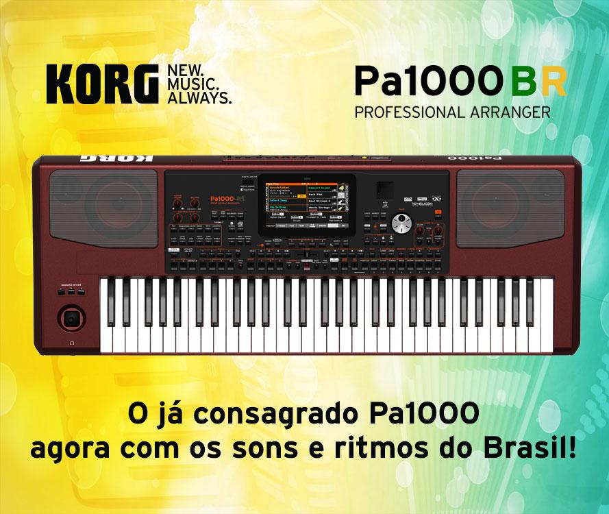 Korg Pa-300 e Pa1000 BR