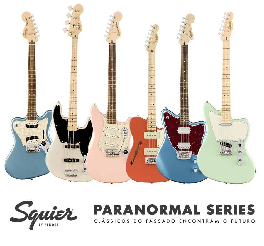Lançamento Fender Squier Paranormal