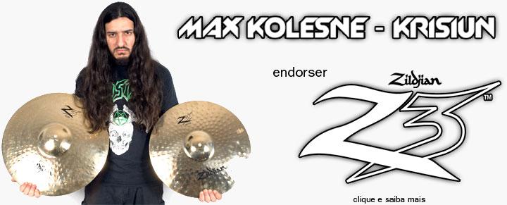 Clique e saiba mais sobre Max Kolesne!