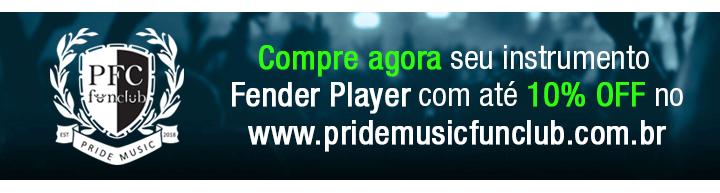 Novas Fender Player Series